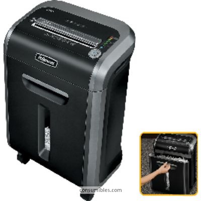 FELLOWES DESTRUCTORA 79CI 23L PARTÍCULAS 4X38 MM CAPACIDAD 13H. 382X270X556 MM 4679001