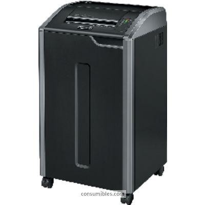 FELLOWES DESTRUCTORA 425CI 21L PARTÍCULAS 4X30 MM CAPACIDAD 28H. 460X510X880 MM 4698001