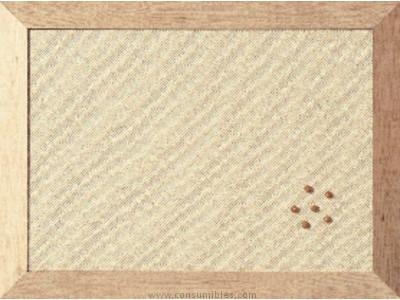 Tableros BI OFFICE TABLERO BLANCO KAMASHI 45X60 MARCO FB041281222