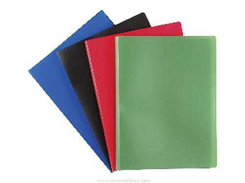 Comprar Carpetas fundas tapa flexible 491022(1/10) de Elba online.