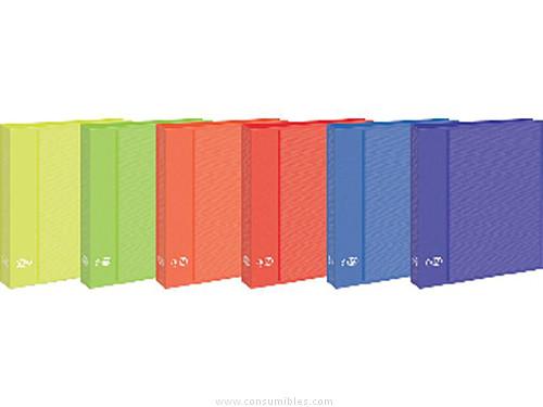 Comprar Carpetas anillas color 491622(1/10) de Elba online.
