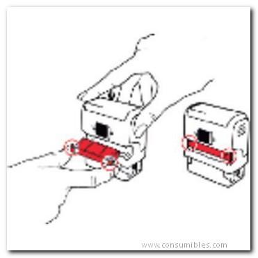 Almohadillas de recambio TRODAT ALMOHADILLA RECAMBIO 6/4911 2 UD NEGRO 4911/6 N CL
