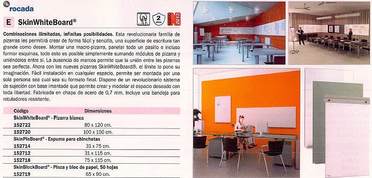 ROCADA ESPUMA SKINPINBOARD 31X115 CM RD-6250R