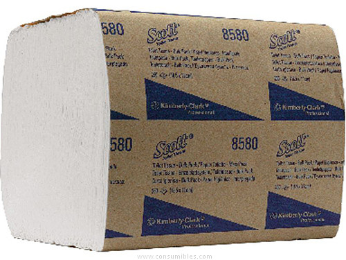 KIMBERLY CLARK RECAMBIO PAPEL HIGIENICO SCOTT (FSC) PACK 36 UD 186X114 MM 8508