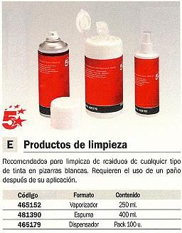 5 STAR ESPUMA LIMPIEZA 400 ML 204-50-121