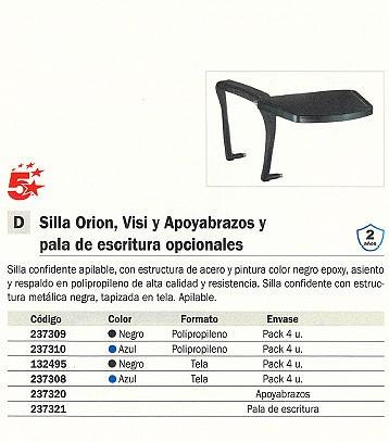 5 STAR SILLÓN DE CONFIDENTE OSLO TELA AZUL 26ARAN229