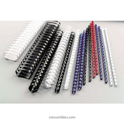 Canutillos GBC CANUTILLO COMBBIND 100UD ROJO LOMO 10MM A4 4028661