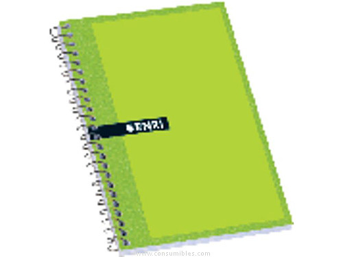 Comprar Cuadernos con espiral gama escolar 529752 de Enri online.