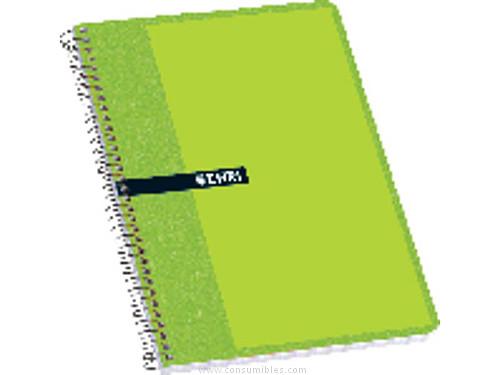 Comprar Cuadernos con espiral gama escolar 529800 de Enri online.