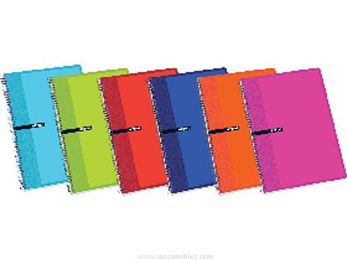 Comprar Cuadernos con espiral gama escolar 529841 de Enri online.