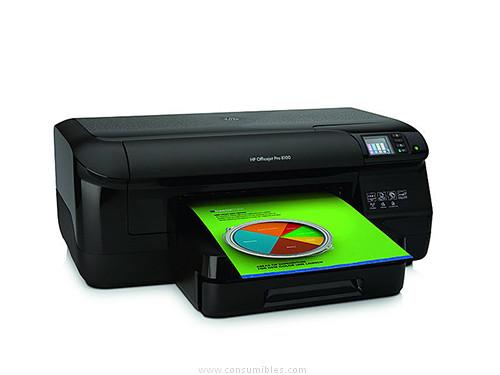 HP IMPRESORA INYECCION PRO 8100 COLOR 20PPM WIFI DUPLEX A4 1200X1200DPI CM752A#BH7