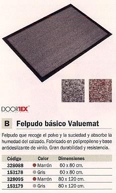 FLOORTEX FELPUDO 80X120 FC480120VALGR