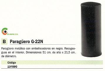 CILINDRO PARAGÜERO G 22N METÁLICO 51 ALTO X 21,5 DIAMETRO G 22
