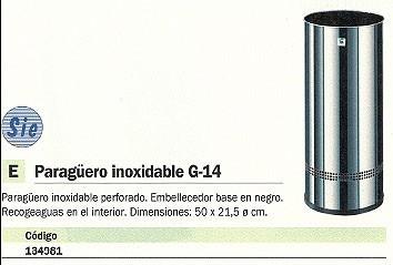 CILINDRO PARAGÜERO ACERO INOXIDABLE 50X21,5 G-14