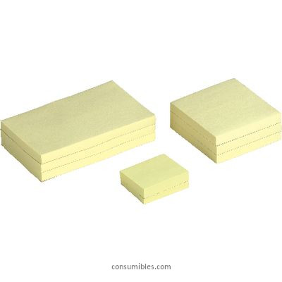 5 STAR NOTAS ADHESIVAS RE-MOVE PACK 12 BLOCS 100H AMARILLO 38X51MM UU001158276