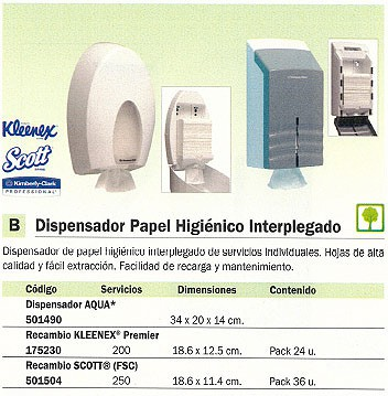 KIMBERLY-CLARK RECAMBIO PAPEL HIGIENICO SCOTT (FSC) PACK 36 UD 186X114 MM 8508