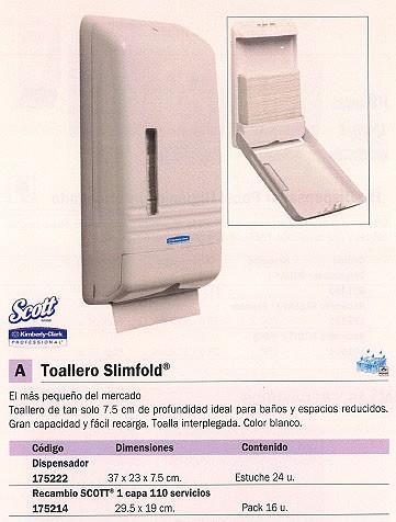 KIMBERLY CLARK RECAMBIO TOALLAS CAJA 16 UD 110 SERVICIOS 5856