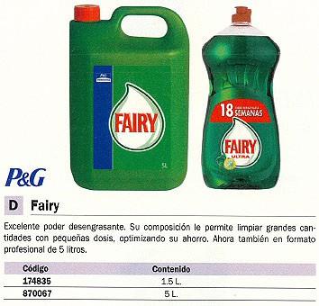 FAIRY LIMPIADOR 5L. GEL 5600443177