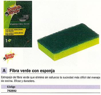 3M ESTROPAJOS VERDE FIBRA RN000971887