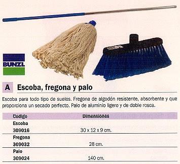 BUGA ESCOBAS 300X120X90 ALGODON PALO ALUMINIO 15987