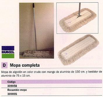 BUNZL RECAMBIO MOPA 750X150 MM BASTIDOR 15902