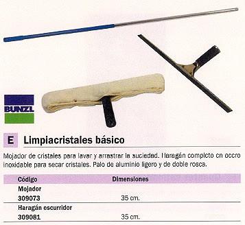 BUNZL LIMPIACRISTALES HARAGAN ESCURRIDOR 350 MM 16008