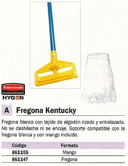 RUBBERMAID FREGONAS KENTUCKY ALGODON NO SE DESHILACHA NI ENCOJE 861155