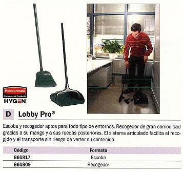 RUBBERMAID RECOGEDOR LOBBY PRO SISTEMA ARTICULADO 860809