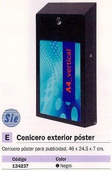 PLANNING SISPLAMO CENICERO POSTE EXTERIOR