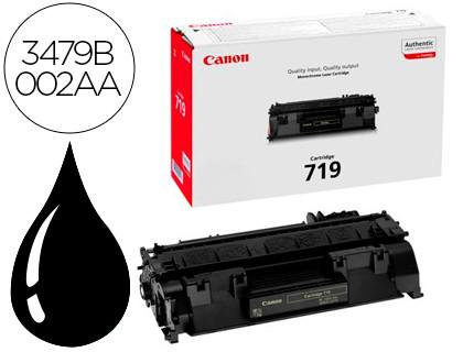 Cartucho de tóner Negro CRG 719 Canon CRG-719