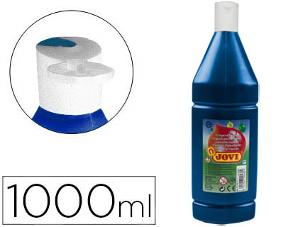 TEMPERA LIQUIDA JOVI ESCOLAR 1000 ML AZUL ULTRAMAR