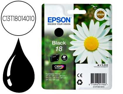 Cartucho de Tinta negro Claria Home Epson 18 - (T1801)