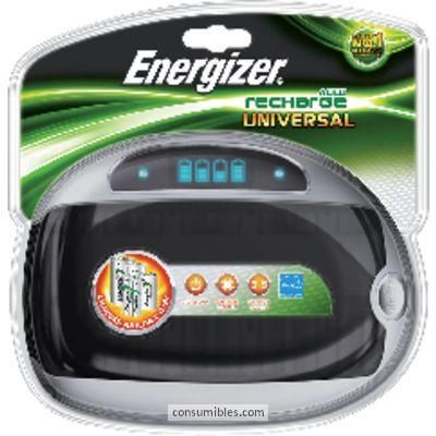 Cargadores pilas ENERGIZER CARGADOR PILAS AA,AAA,C,D Y 9V PANTALLA LED 632959