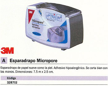 NEXCARE ESPARADRAPO 7,5MX2,5CM CE100686407