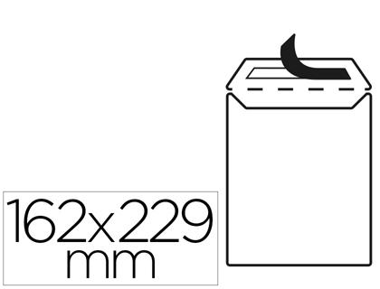 Sobres bolsas de papel LIDERPAPEL BOLSA N 16 BLANCO C5 162X229 MM TIRA DE SILICONA PAQUETE DE 25 UNIDADES