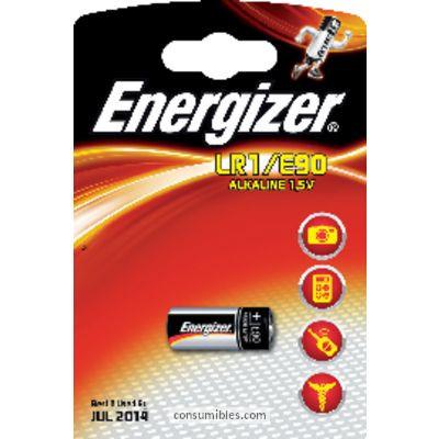 Pilas boton ENERGIZER PILAS BOTÓN PACK 1 UD. E90/LRI BLISTER 608306