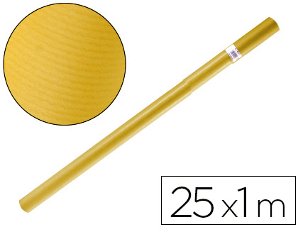 Papel kraft PAPEL KRAFT LIDERPAPEL AMARILLO ROLLO 25X1 MT