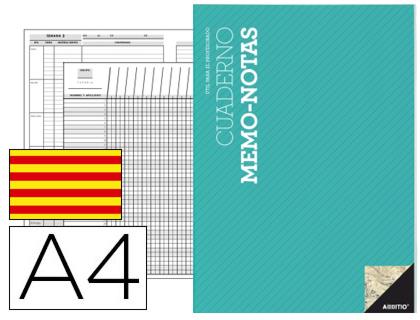 Especialidades Didacticas ADDITIO ADDITIO CUADERNO NOTAS PROFESOR CATALAN P151
