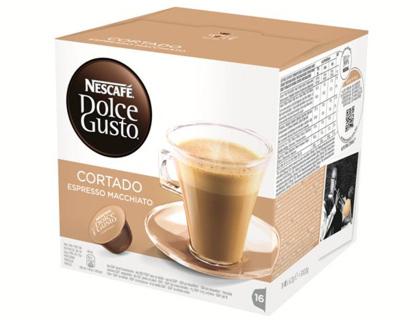 Comida CAFE DOLCE GUSTO DESCAFEINADO CORTADO MONODOSIS CAJA DE 16 UNIDADES