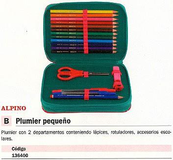 ALPINO PORTATODO ACCESORIOS INCLUIDOS 2 DEPARTAMENTOS UA000113