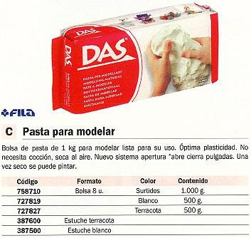 FILA PASTAS 500 G TERRACOTA 387100