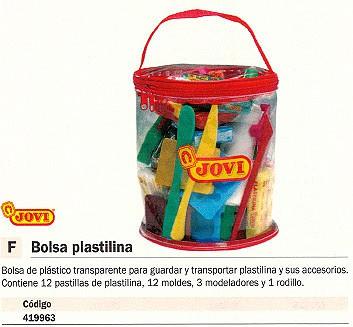 JOVI PLASTILINA Y ACCESORIOS ROJA 340
