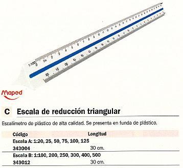 MAPED EXCALÍMETRO 30 CM 240011