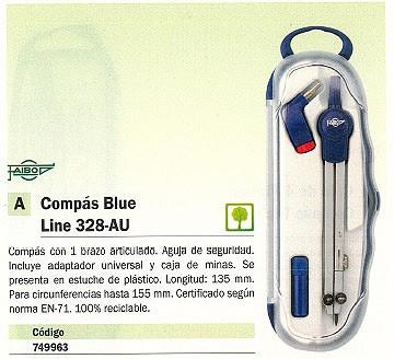 FAIBO COMPASES LINE 328-AU 135 MM 1 BRAZO ARTICULADO ADAPTADOR Y CAJA MINAS 328AU