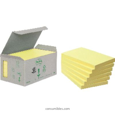 POST IT TORRE NOTAS ADHESIVAS PACK 16 BLOCS AMARILLO 76X127 MM FT510110362