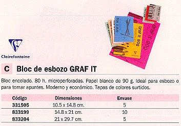 Comprar Papel esbozo 833204(1/5) de Clairefontaine online.