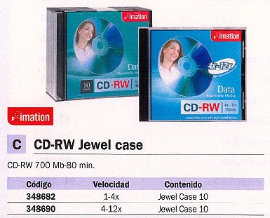 Comprar Jewel Case 348690 de Imation online.