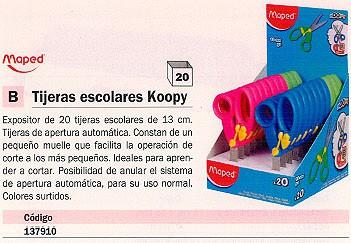 MAPED EXPOSITOR TIJERAS KOOPY 20UD 13CM 137910