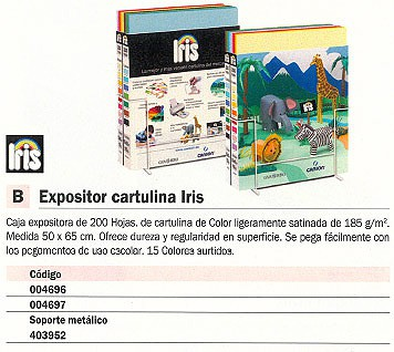 CANSON EXPOSITOR CARTULINA 200 UD 50X65 200403952