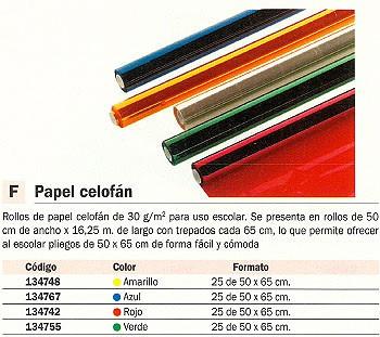 Comprar Papel celofan 134742 de Unipapel online.
